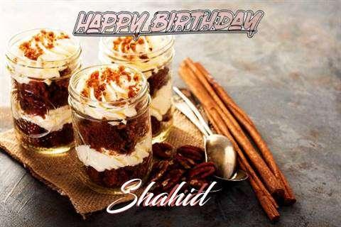 Shahid Birthday Celebration