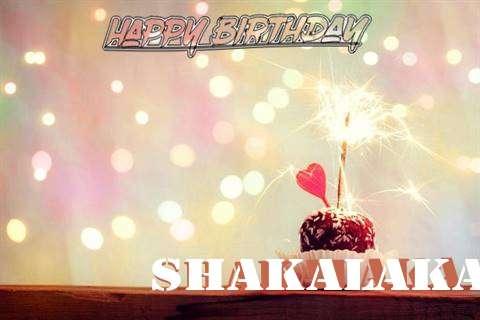 Shakalaka Birthday Celebration