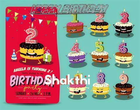 Happy Birthday Shakthi Cake Image