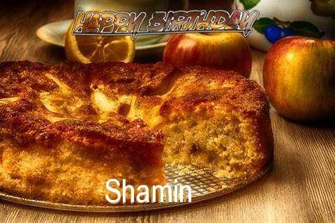 Happy Birthday Wishes for Shamin