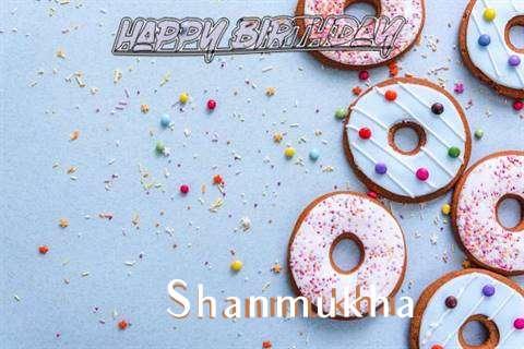 Happy Birthday Shanmukha Cake Image