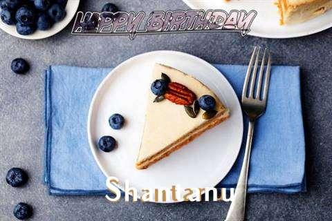 Happy Birthday Shantanu Cake Image