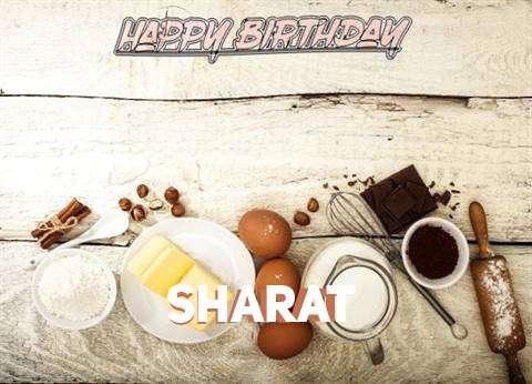 Happy Birthday Sharat Cake Image