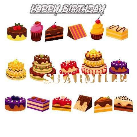Happy Birthday Sharmilee Cake Image