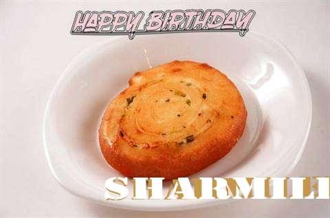 Happy Birthday Cake for Sharmilee