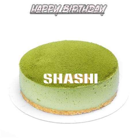 Happy Birthday Cake for Shashi
