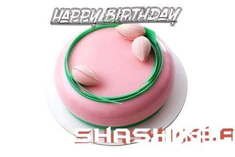 Happy Birthday Cake for Shashikala