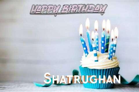 Happy Birthday Shatrughan Cake Image