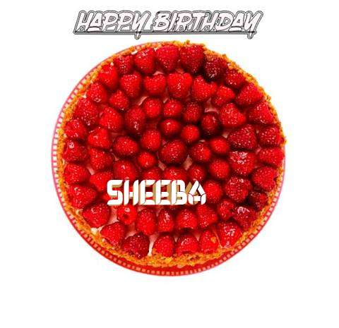 Happy Birthday to You Sheeba