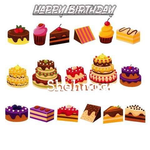 Happy Birthday Shehnaaz Cake Image