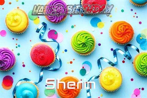 Happy Birthday Cake for Sherin