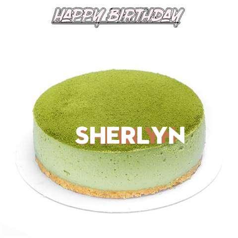 Happy Birthday Cake for Sherlyn