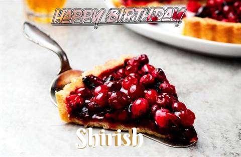 Birthday Wishes with Images of Shirish