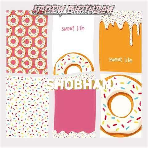 Happy Birthday Cake for Shobhana