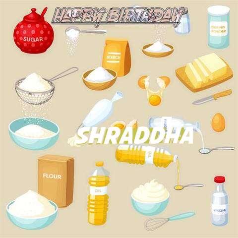 Birthday Images for Shraddha
