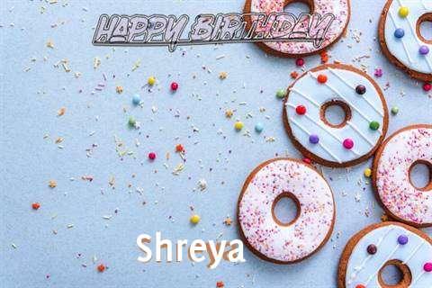 Happy Birthday Shreya Cake Image