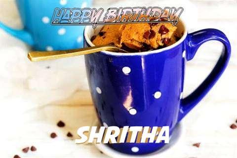 Happy Birthday Wishes for Shritha