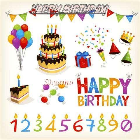 Birthday Images for Shyama