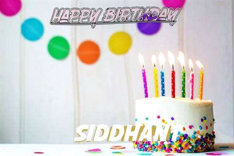 Happy Birthday Cake for Siddhant