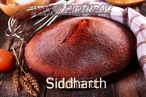 Happy Birthday Siddharth Cake Image