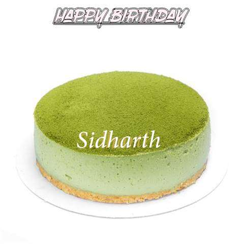 Happy Birthday Cake for Sidharth
