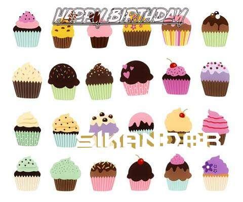 Happy Birthday Wishes for Sikandar