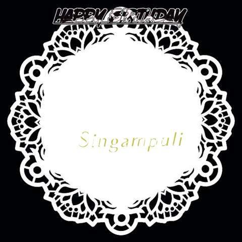 Happy Birthday Singampuli Cake Image