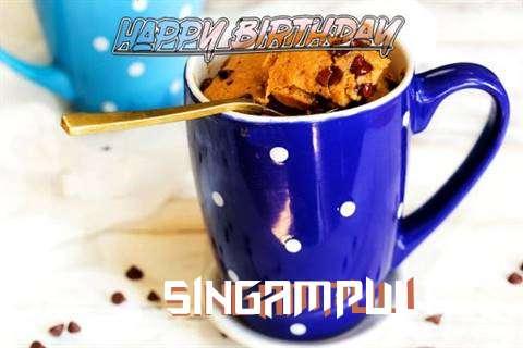 Happy Birthday Wishes for Singampuli