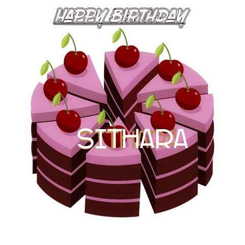 Happy Birthday Cake for Sithara