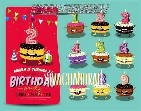 Happy Birthday Sivachandran Cake Image