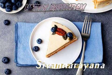 Happy Birthday Sivannarayana Cake Image
