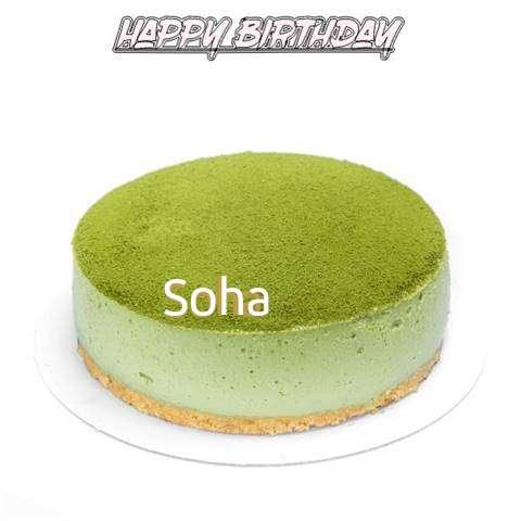Happy Birthday Cake for Soha