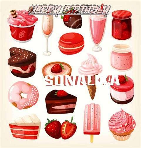 Happy Birthday Cake for Sonalika