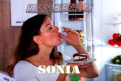 Happy Birthday to You Sonia