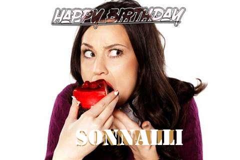 Happy Birthday Wishes for Sonnalli