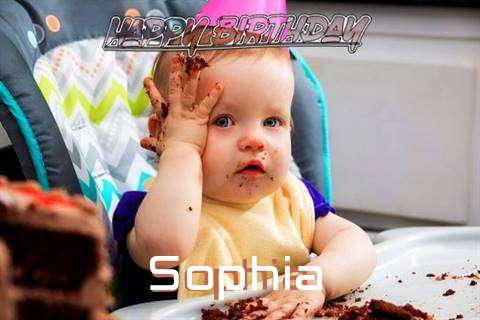 Happy Birthday Wishes for Sophia