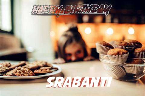 Happy Birthday Srabanti Cake Image