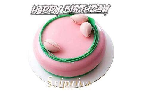 Happy Birthday Cake for Sripriya