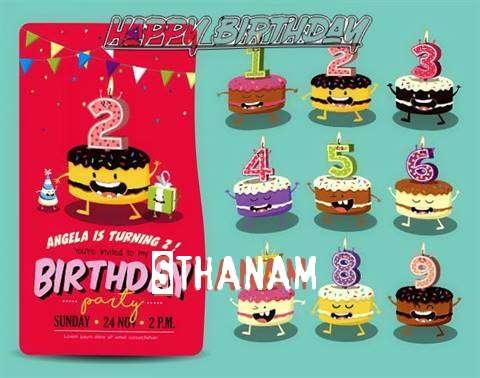 Happy Birthday Sthanam Cake Image