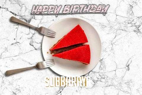 Happy Birthday Subbaraya