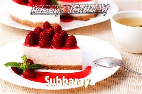 Birthday Wishes with Images of Subbaraya