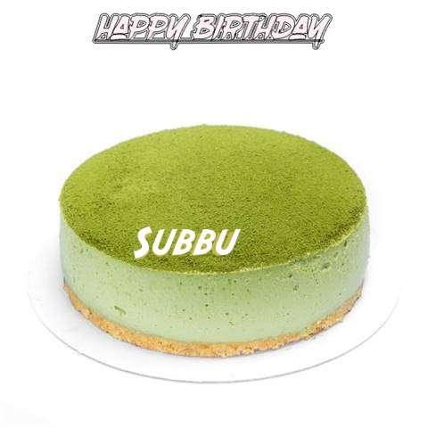 Happy Birthday Cake for Subbu