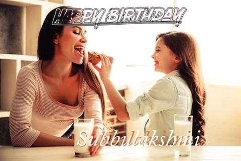Subbulakshmi Birthday Celebration