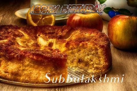 Happy Birthday Wishes for Subbulakshmi