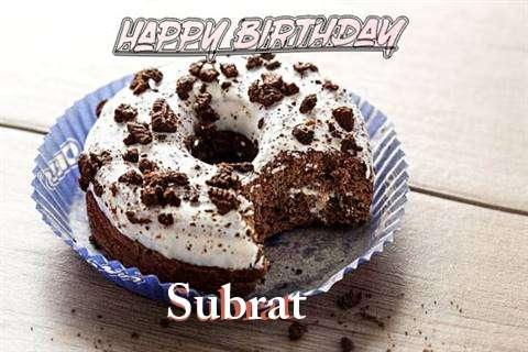 Happy Birthday Subrat