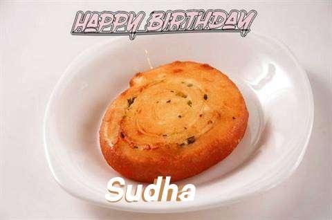 Happy Birthday Cake for Sudha
