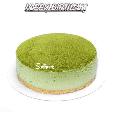 Happy Birthday Cake for Sudheer