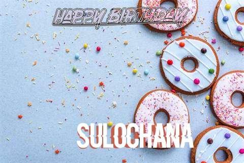 Happy Birthday Sulochana Cake Image