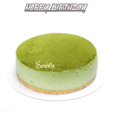 Happy Birthday Cake for Sumalatha