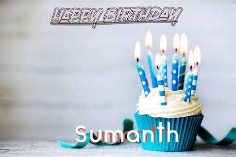 Happy Birthday Sumanth Cake Image